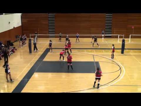 California Heat 13's (Camarillo) VS  Rincon 13's  (Ventura) from 2011 (Volleyball)
