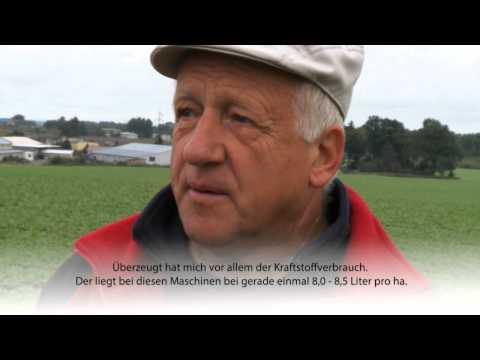 Ein Landwirt in Polen: Früher Fortschritt - heute Fendt