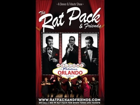 Rat Pack and Friends Dinner and Tribute Show Kissimmee Florida
