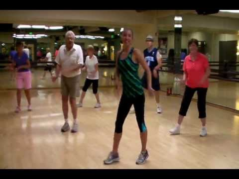 "Senior Fitness Exercise Class Routine ""Twistin' the Night Away"""