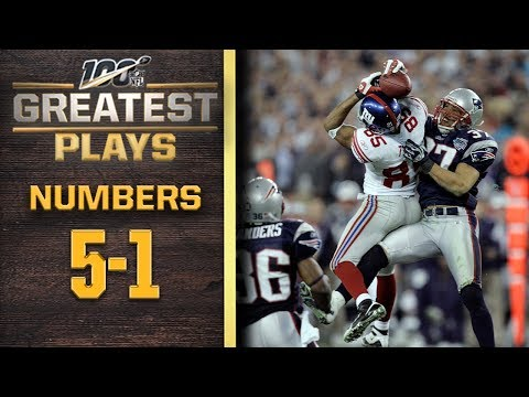 100 Greatest Plays: Numbers 5-1 | NFL 100