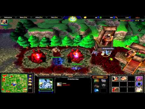 Dread стрим 09.02.2014[#1]: [Warcraft III ] (видео)