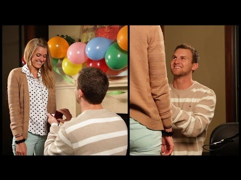 WATCH: She Planned Her Own Proposal Without Even Knowing It!