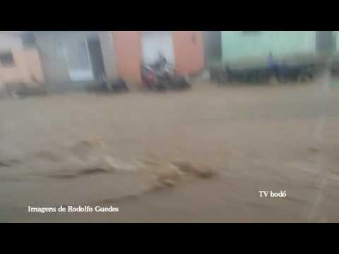 Chuva em Cerro Corá RN