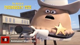 """CGI 3D Animated Short Film """"THE BALLAD OF POISONBERRY PETE"""" Funny Western Animation by Ringling"""