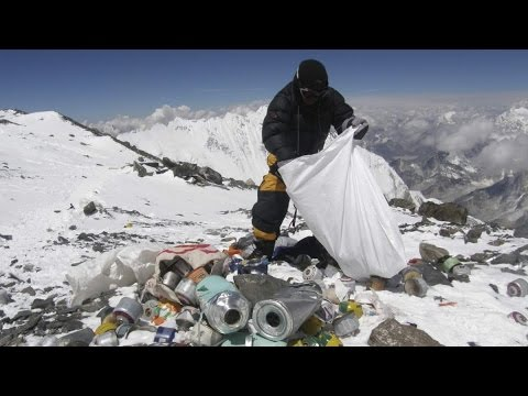 Human Waste on Mt. Everest is Causing Pollution