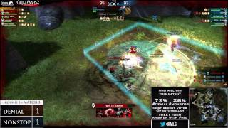 Denial Esports vs Nonstop Nonsense - Game 3 - MLG Guild Wars 2 Invitational
