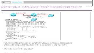 Rick Graziani   CIS 82 Introduction to Routing Technologies and Theory Cisco CCNA 2 05 28 2013