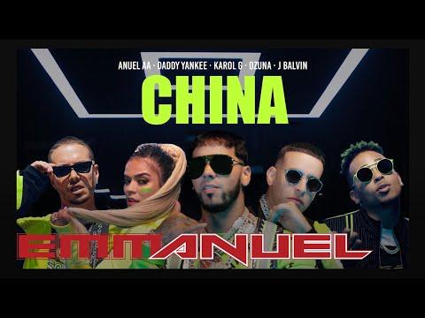 "Anuel AA, Daddy Yankee, Karol G, Ozuna & J Balvin – ""China"""