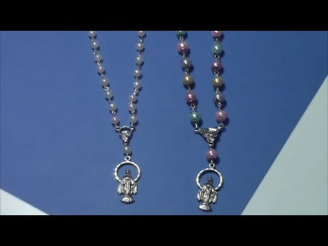 tutorial como hacer un rosario / tutorial how to make a rosary