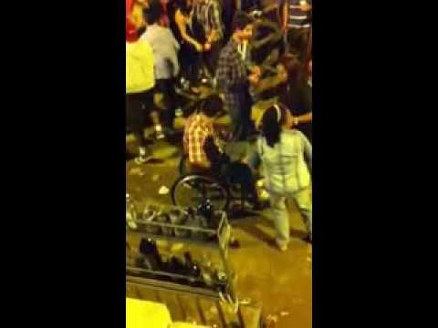 Cadeirante quebrando tudo na festa da cidade em Guaratinga - Ba