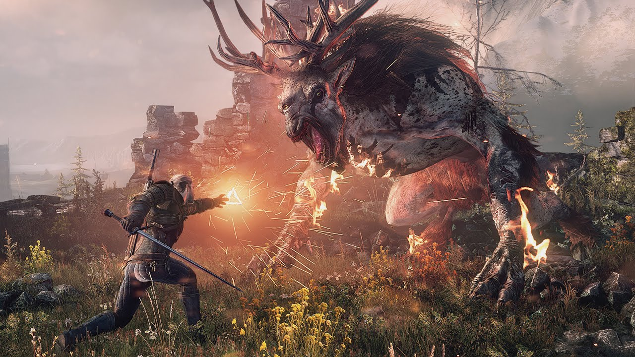 THE WITCHER 3 – Rage & Steel Trailer #VideoJuegos #Consolas