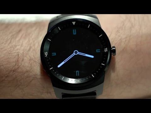 R - Take a look at our video review of the LG G Watch R, the Android Wear smartwatch that uses angular metal, real leather and a host of gorgeous watch faces to be the most beautiful smartwatch around.