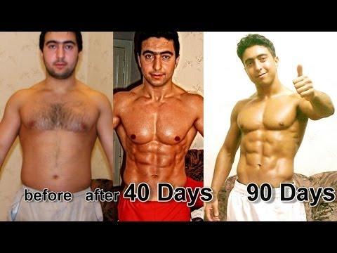 இவர் மாதிரி உடற்பயிற்சி செய்தால் இப்படி ஆகிடலாம் !!!  My 40 days Crazy Transformation STEROID FREE
