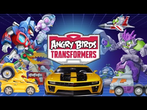 rovio - Angry Birds Transformers by Rovio Entertainment Ltd (iOS / Android) Walkthrough Part 1: Rescuing Bumblebee aka Chuck Angry Birds and Transformers collide in ...