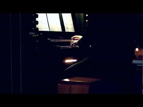 Organ Improvisation by Simon Petrén in Gävle, Sweden (27 jan 2012)