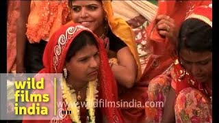 Tonk India  City new picture : Child marriage in Tonk Village, Rajasthan, India