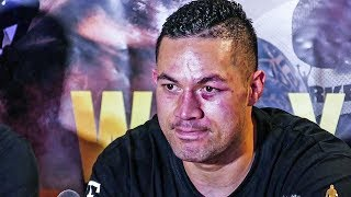 Joseph Parker POST FIGHT PRESS CONFERENCE after losing to Dillian Whyte | Matchroom Boxing