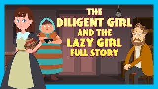 Video THE DILIGENT GIRL AND THE LAZY GIRL FULL STORY |  TIA AND TOFU STORYTELLING | KIDS HUT MP3, 3GP, MP4, WEBM, AVI, FLV Juli 2019