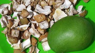 ಒಣ  ಮಾವಿನ ಕಾಯಿ ಚೂರುಗಳು, Dry Mango pieces, RANI SWAYAM KALIKE.
