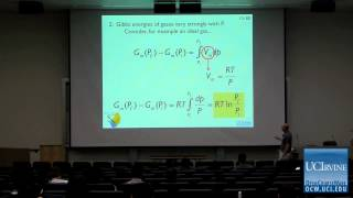 Thermodynamics and Chemical Dynamics 131C. Lecture 15. Getting to Know The Gibbs Energy.