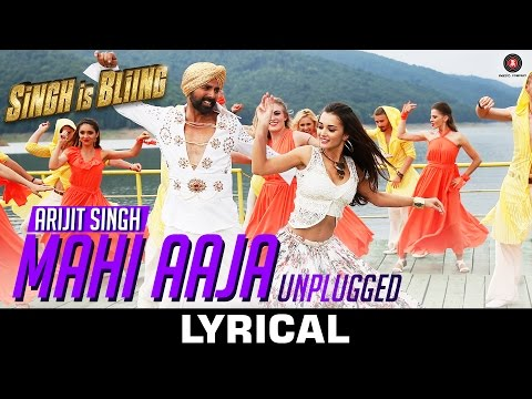 Mahi Aaja Unplugged Lyrical - Arijit Singh | Singh