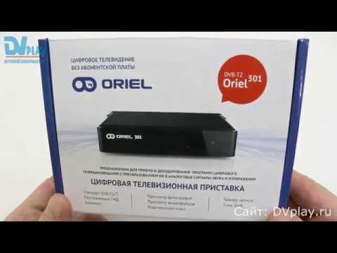 Oriel 301 - обзор DVB-T2 ресивера
