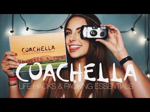 COACHELLA LIFE HACKS & LAST MINUTE PACKING ESSENTIALS || Natalie-Tasha Thompson