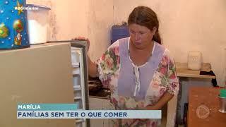 Famílias de Marília contam com ajuda para se alimentar