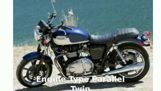 4. 2010 Triumph Bonneville SE Features, Specification