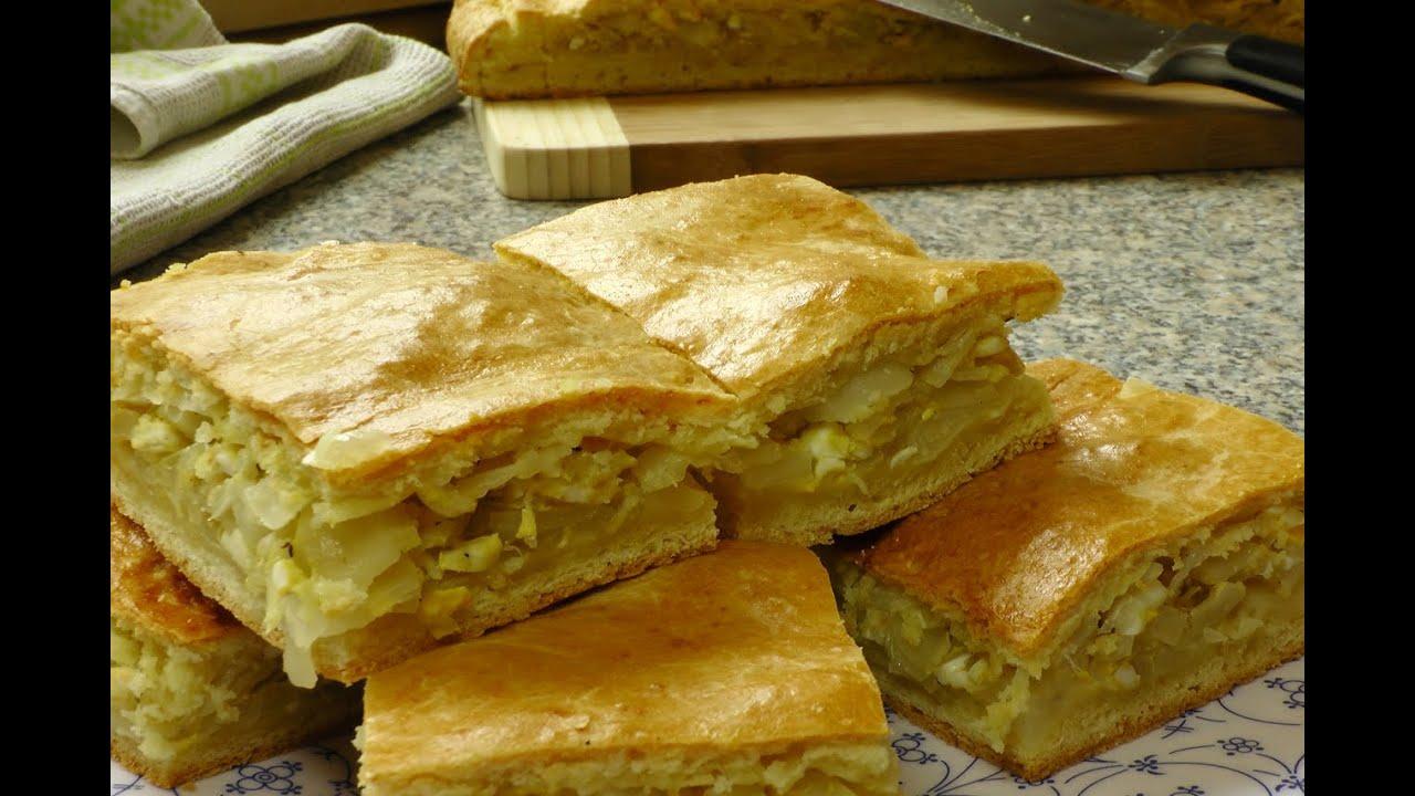 пироги из капусты рецепты