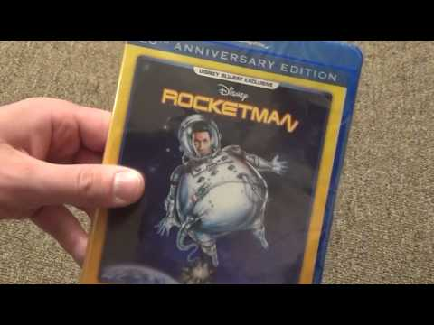 Disney's Rocketman 20th Anniversary Edition Blu-Ray Unboxing