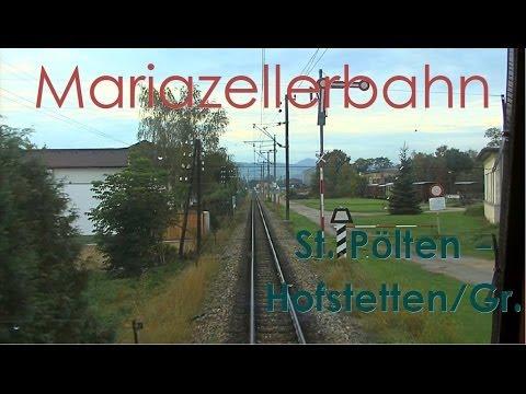 Führerstandsmitfahrt Mariazellerbahn (Talstrecke) St. Pölten - Laubenbachmühle [1/2] [HD] - Cab Ride