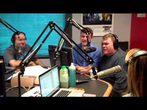 Comedians Kevin Heffernan and Steve Lemme from Broken Lizard stop by The Show