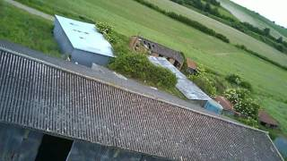 the barn shed were my drone fell on and I lost my drone again.This time I got it back sooner with in a hour by climbing on top of the barn and collecting the drone U818A then climbing down.got stung by nettles and pricked by thorns but retrieved my drone.lol.I created this video with the YouTube Video Editor (http://www.youtube.com/editor)