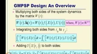 Mod-11 Lec-25 Model Predictive Spread Control (MPSC) And Generalized MPSP (G-MPSP) Designs