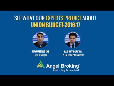 Angel Broking experts share their views on the upcoming Budget 2016-17 #BudgetPeCharcha