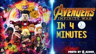 Video MARVELS Avengers: Infinity War In 4 Minutes [LEGO STOP MOTION] MP3, 3GP, MP4, WEBM, AVI, FLV Oktober 2018