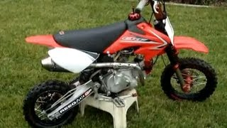 8. Fully Modified Honda CRF50 117CC Pitbike