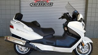 6. USED 2011 Suzuki Burgman 650 Executive Scooter FOR SALE - Chattanooga TN / GA / AL area