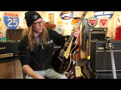 Mike Hickey plays a 1960 Gibson Les Paul Standard