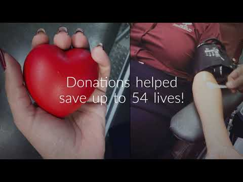 Watch 'Oak Tree\\\'s Blood Drive was an Awesome Success! - YouTube'