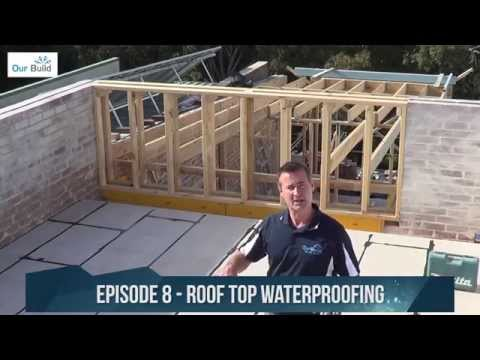 Episode 8 – Waterproofing the roof deck – Small Space Big Build Project
