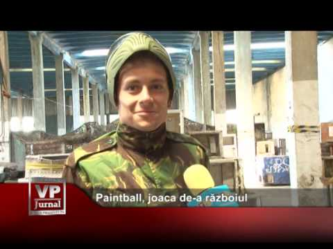 Paintball, joaca de-a războiul