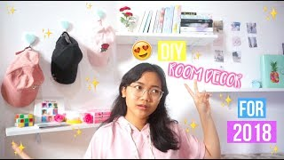 Video DIY Room Decor for 2018!! (Indonesia) MP3, 3GP, MP4, WEBM, AVI, FLV Desember 2017
