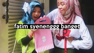 Video Kado Untuk Fatim, dia kaget pas dikasih ini! | SOHWAcam MP3, 3GP, MP4, WEBM, AVI, FLV Mei 2019