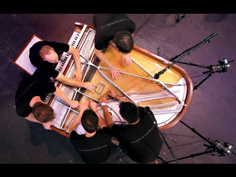 0 One Direction   What Makes You Beautiful (5 Piano Guys, 1 piano)