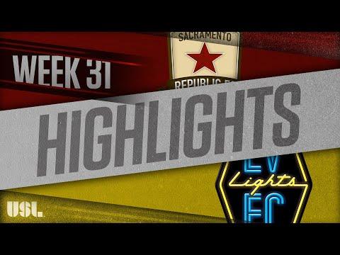 Сакраменто Репаблик - Las Vegas Lights 1:0. Видеообзор матча 14.10.2018. Видео голов и опасных моментов игры