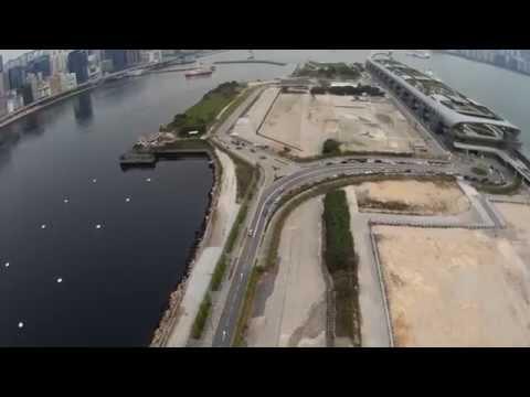 Kai Tak Cruise Terminal Drone Video