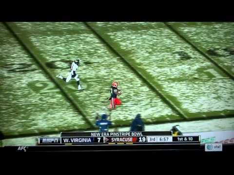 Prince-Tyson Gulley touchdown vs West Virginia 2013 video.